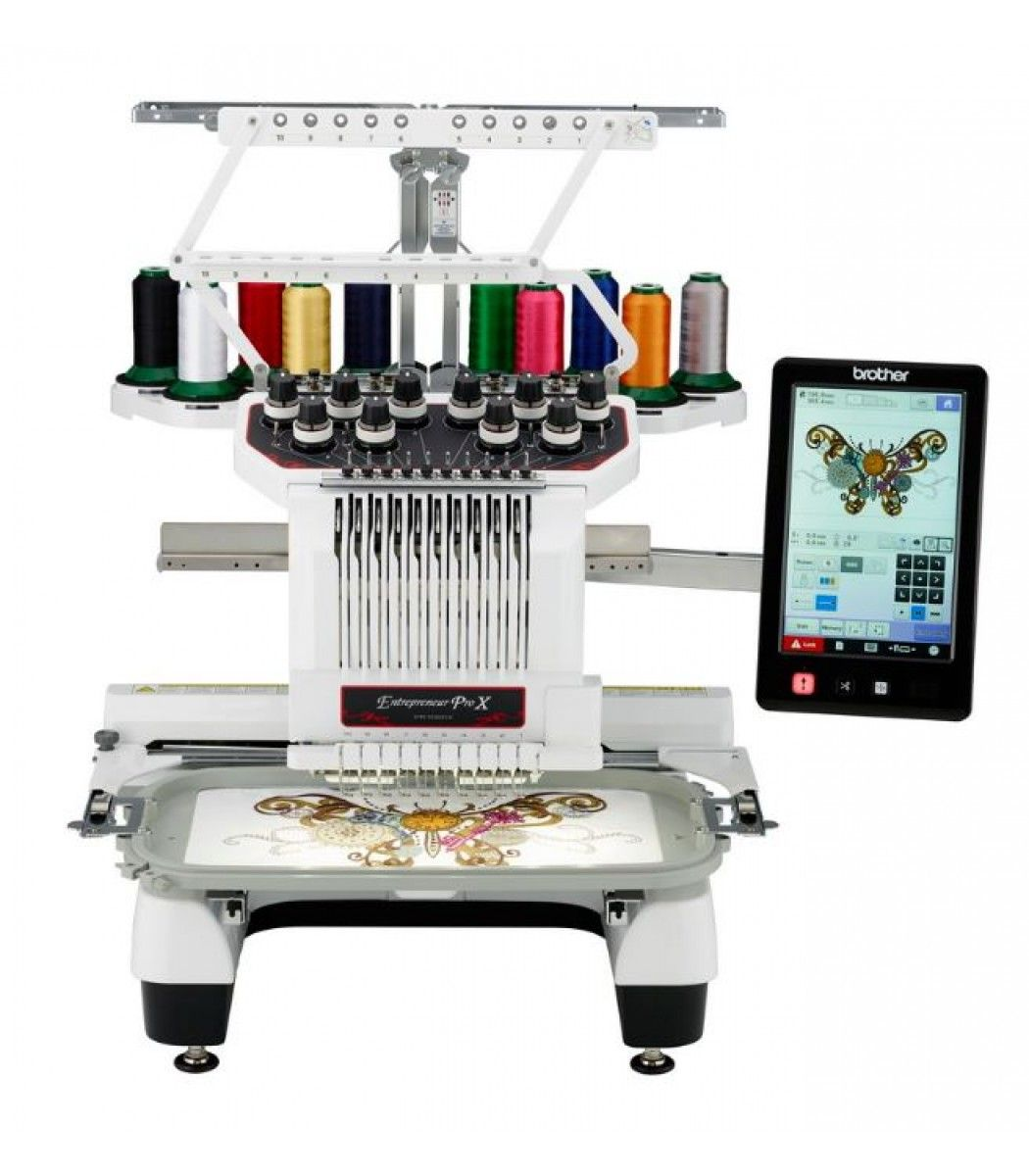 Brother Entrepreneur Pro PR1050X Embroidery Machine 10 Needle Comes with FULL Version 10 Software