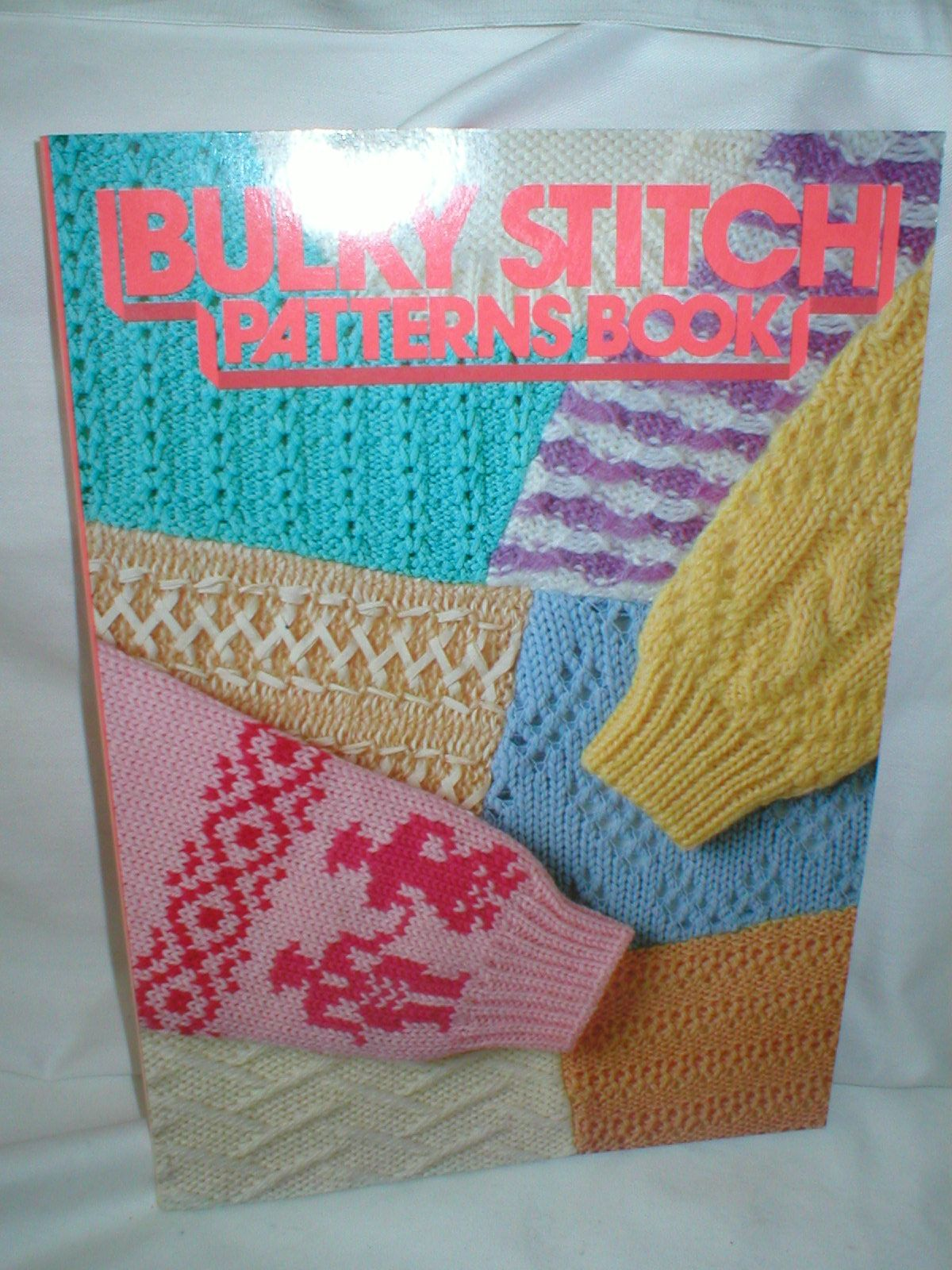Bulky Stitch Patterns Book for Brother Chunky Knitting Machine B459