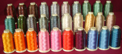 Marathon Rayon Embroidery Machine Thread 1000m Spool Choice of Colours 1159-1199