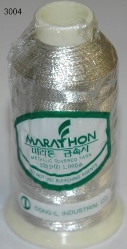 Marathon Rayon Embroidery Machine Thread Metallic - 3004