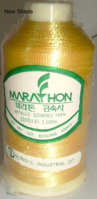 Marathon Rayon Embroidery Machine Thread Metallic - 3016