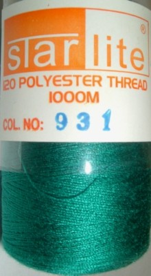 Polyester Sewing Machine Thread 1000 Metres Spools 931