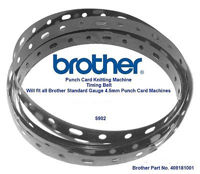 Timing Belt for Brother Punchcard Knitting Machine Part No 408181001