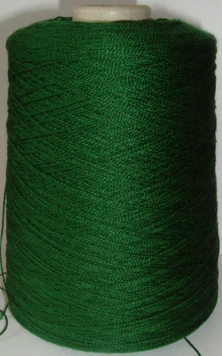 Bramwell Artistic Crepe Acrylic Yarn 4ply 500g - Forest Green
