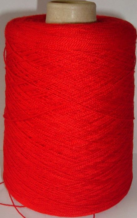 Bramwell Artistic Crepe Acrylic Yarn 4ply 500g - Red