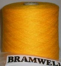 Bramwell Fine 4ply Yarn 500g - Sunflower