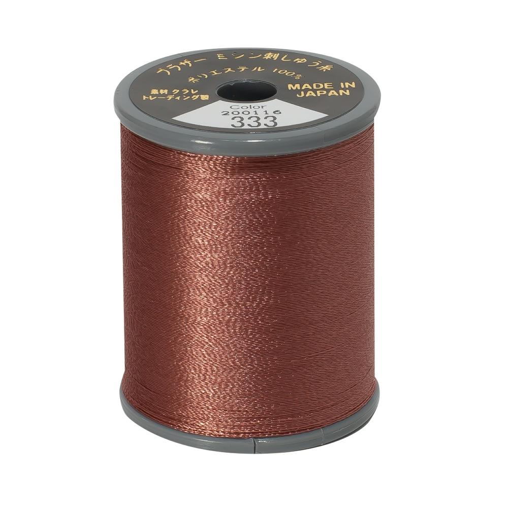 Brother Embroidery machine Thread Polyester Amber A817.333