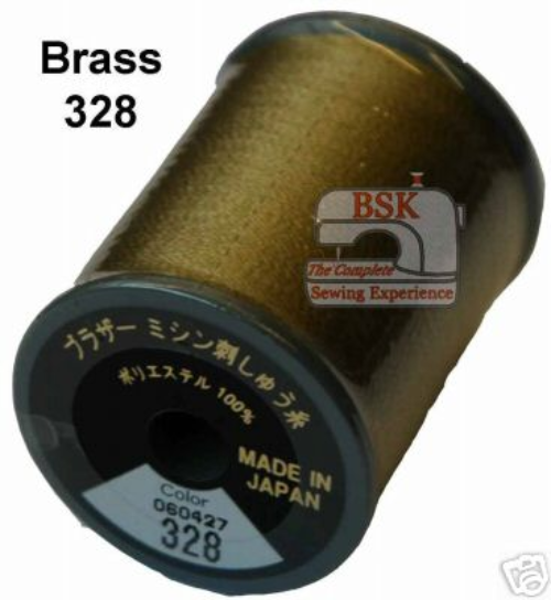 Brother Embroidery machine Thread Polyester Brass A817.328