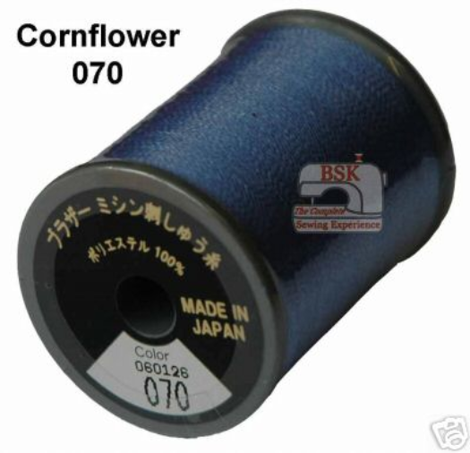 Brother Embroidery machine Thread Polyester Cornflower A817.070