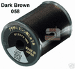 Brother Embroidery machine Thread Polyester Dark Brown A817.058