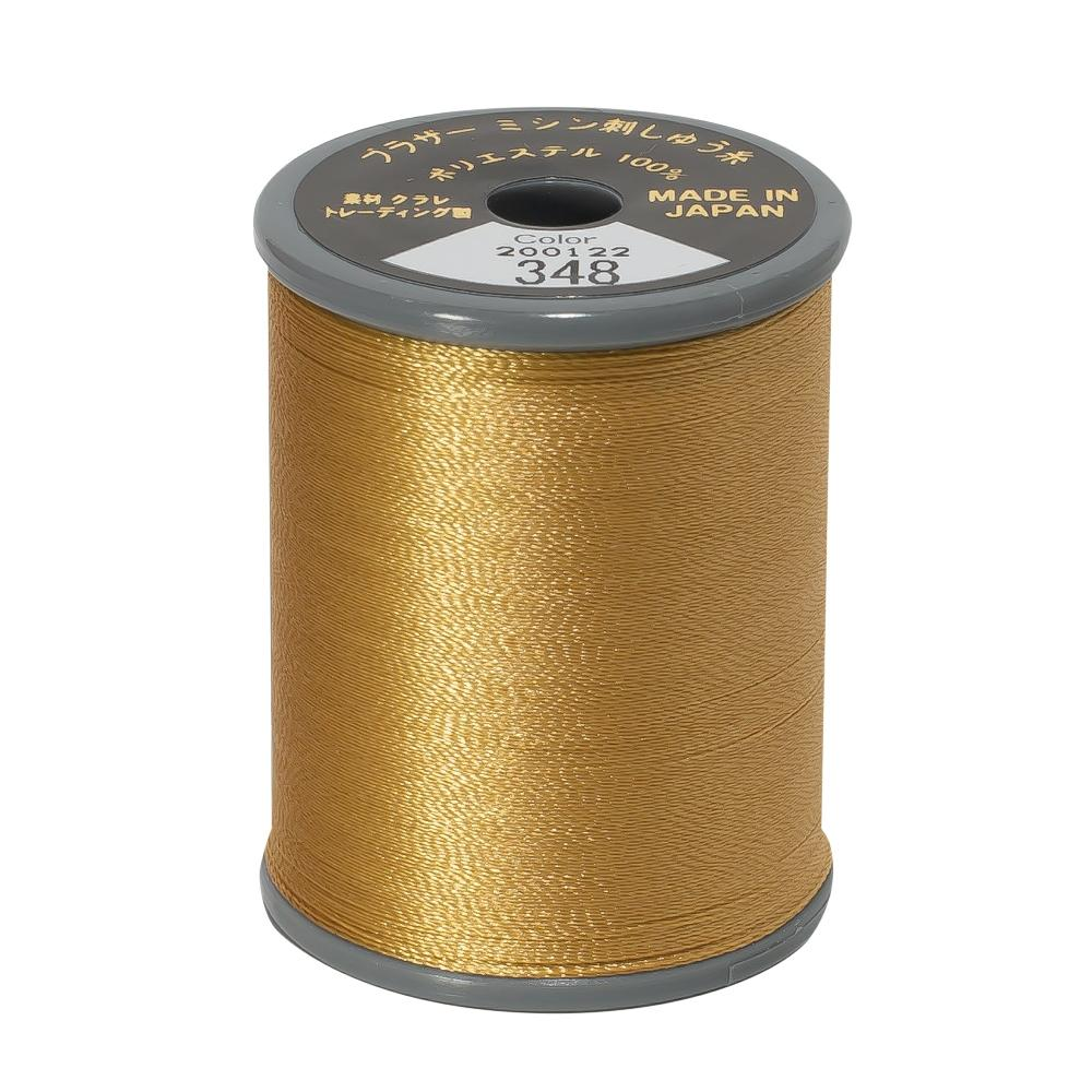 Brother Embroidery machine Thread Polyester Khaki A817.348