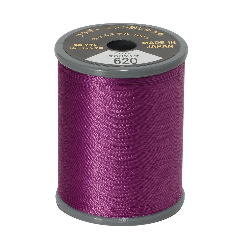 Brother Embroidery machine Thread Polyester Magenta A817.620