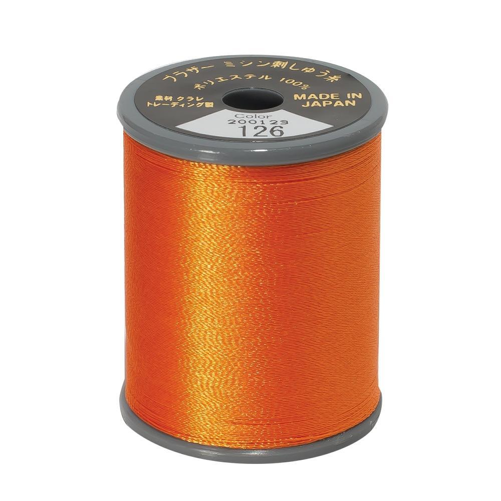 Brother Embroidery machine Thread Polyester Pumpkin A817.126a