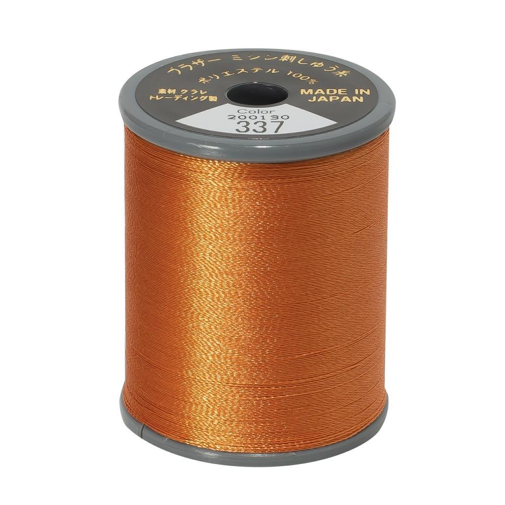 Brother Embroidery machine Thread Polyester Russet - 337