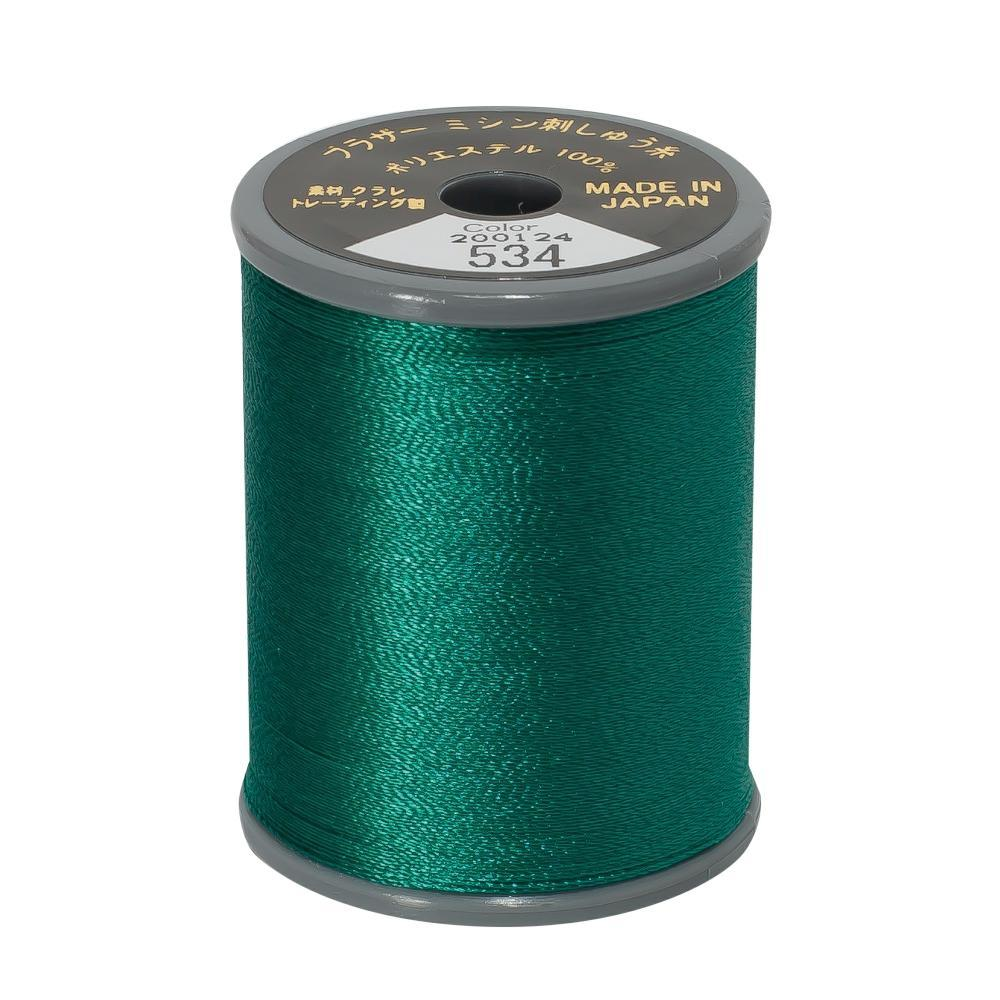 Brother Embroidery machine Thread Polyester Teal Green A817.534