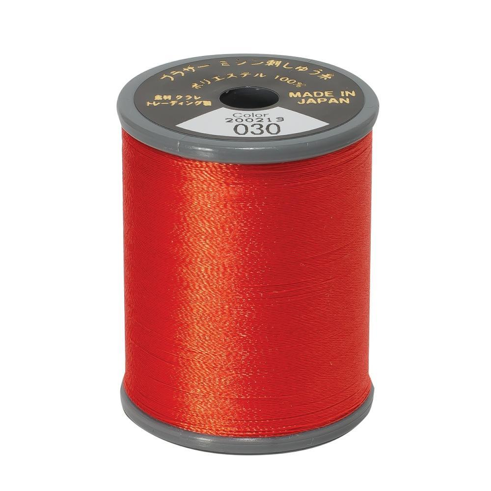 Brother Embroidery machine Thread Polyester Vermilion A817.030