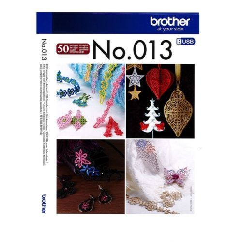 Brother Embroidery Sewing Machine Memory USB Stick BLECUSB13 3D Lace Accessories