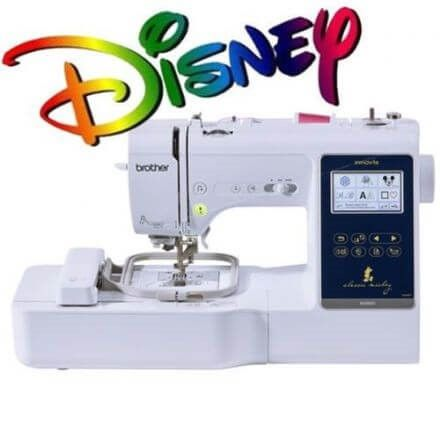 Brother Innovis M280D Disney Sewing Embroidery Machine with PE Design Full Version 10