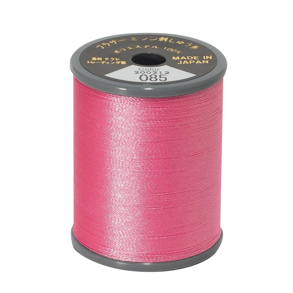 Brother machine Embroidery Thread Polyester 300m PINK A817.085