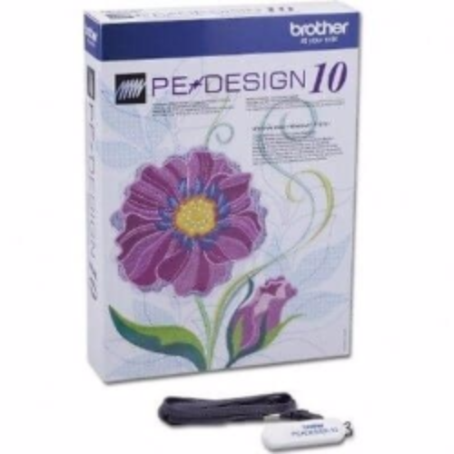 Brother PE Design 10 Embroidery Machine Software - Full Version A148