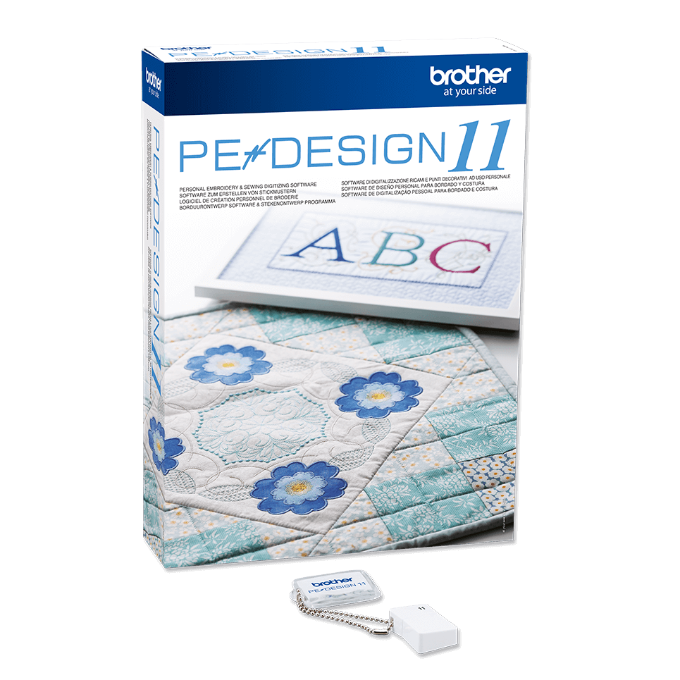 Brother PE Design 11 Embroidery Machine Software - Full Version