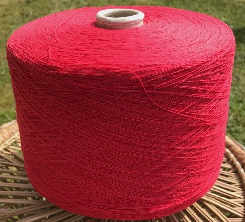 Fusion Knitting Machine Yarn 2/30 1.5 Kilos Acrylic / Cotton Mix Red IND22.01