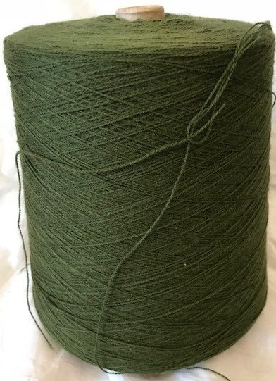 High Bulk Yarn 2/28s - Army Green - 1200g