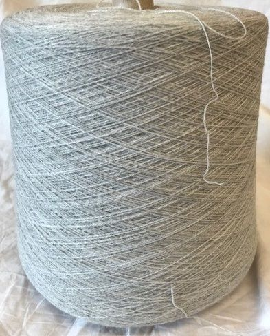 High Bulk Yarn 2/28s - Light Silver - 1300g