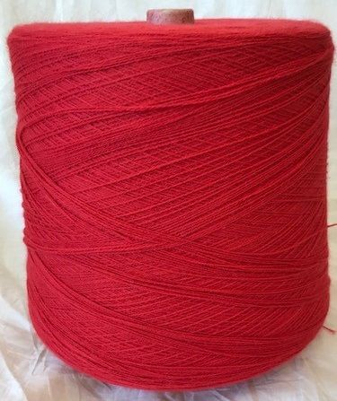 High Bulk Yarn 2/28s - Toro Red 1500g