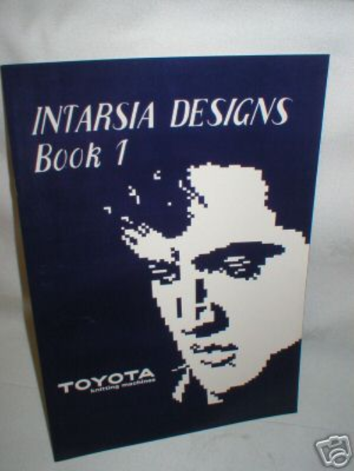 Intarsia Design Book 1- Knitting Machine M669