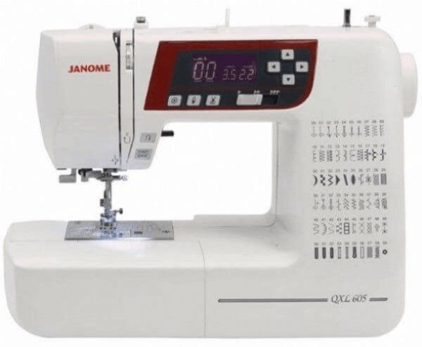 Janome QXL605 Computerised Sewing Machine Plus Free Quilt Kit