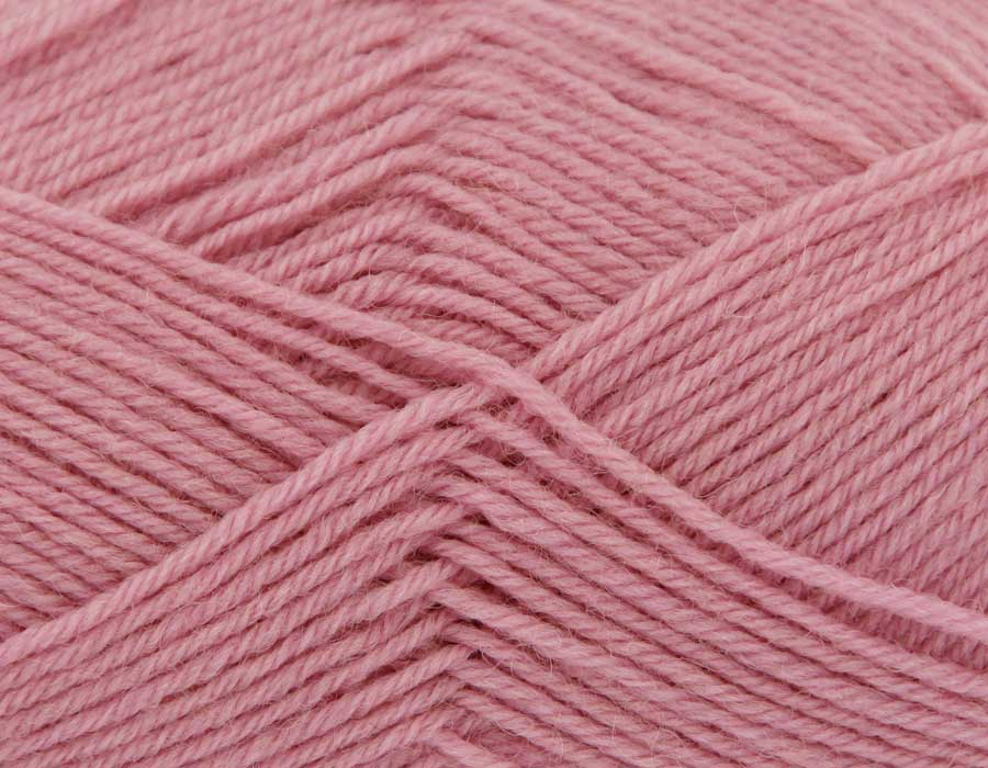 King Cole Pure Wool Yarn 500g Cone 4ply - Rose Petal