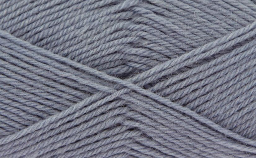 King Cole Pure Wool Yarn 500g Cone 4ply - Stone