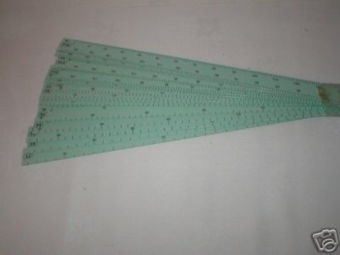 KR7 Stitch Scale for fine gauge Knitmaster/Silver Knitting Machine K94