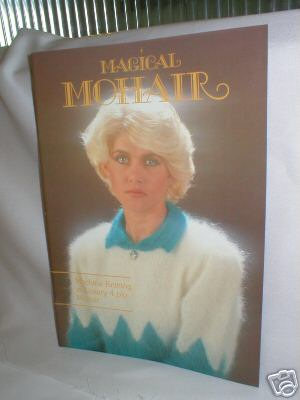 Magic Mohair Book -  Machine Knitting in 4ply Mohair M620