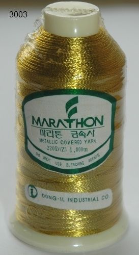 Marathon Rayon Embroidery Machine Thread Metallic - 3003