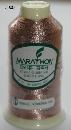 Marathon Rayon Embroidery Machine Thread Metallic - 3009
