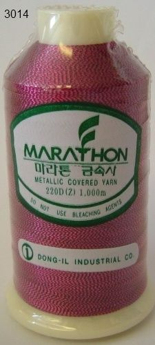 Marathon Rayon Embroidery Machine Thread Metallic - 3014
