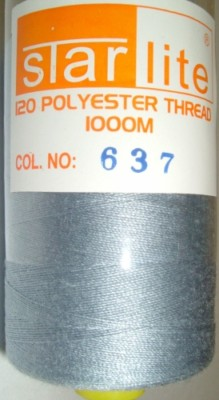 Polyester Sewing Machine Thread 1000 Metres Spools 637