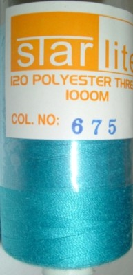 Polyester Sewing Machine Thread 1000 Metres Spools 675