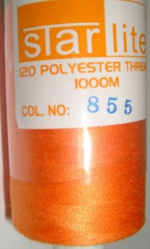 Polyester Sewing Machine Thread 1000 Metres Spools 855
