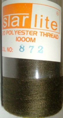 Polyester Sewing Machine Thread 1000 Metres Spools 872