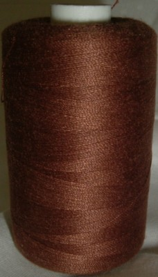 Polyester Sewing Machine Thread 1000 Metres Spools Light Nutmeg - 1149