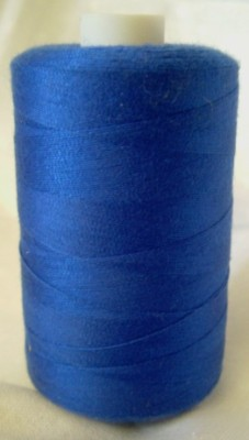 Polyester Sewing Machine Thread 1000 Metres Spools Royal - 1195