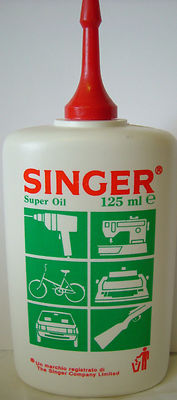Singer Sewing & Knitting Machine Oil  125ml