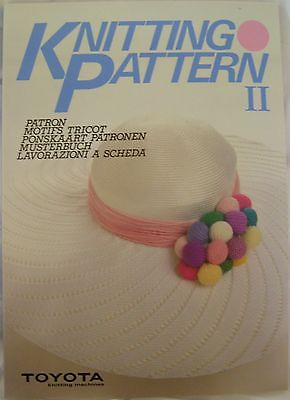 Toyota  Knitting  Patterns  Book II  for  Knitting  Machines