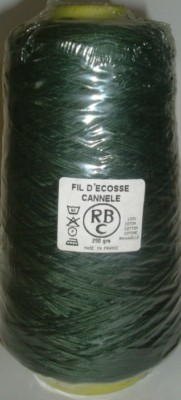 Yeoman Cannele Corded Mercerised Cotton 4ply Forest Y196.150