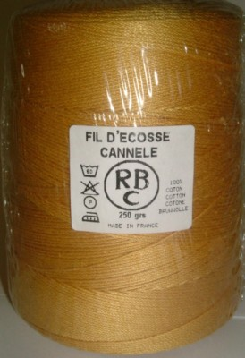Yeoman Cannele Corded Mercerised Cotton 4ply Honey Y196.012