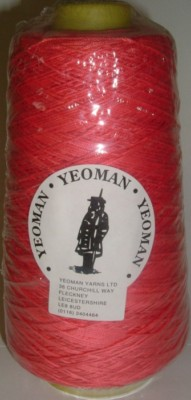Yeoman Cannele Corded Mercerised Cotton 4ply Lipstick Y196.037