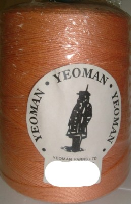 Yeoman Cannele Corded Mercerised Cotton 4ply Melon Y196.145